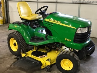 Equipment Details 2005 John Deere X485