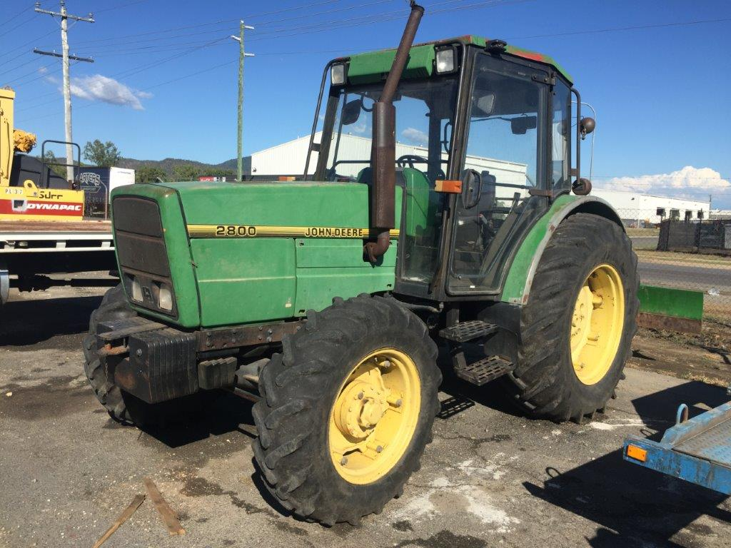 Item Details for John Deere 2800 Tractor 100 HP ...
