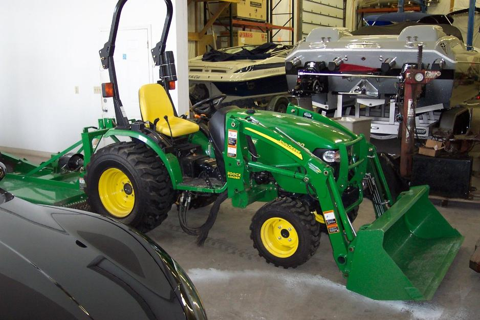 2010 John Deere 2520 Tractor for $2800 - best price ...