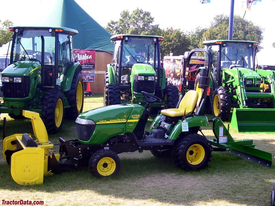 TractorData.com John Deere 2305 tractor photos information