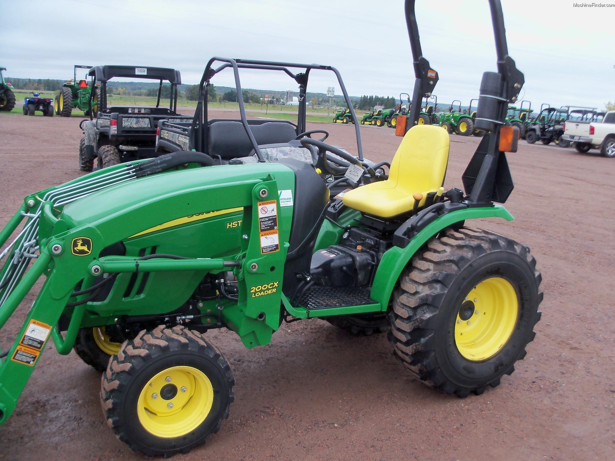 2011 John Deere 2720 CUT Tractors - Compact (1-40hp ...