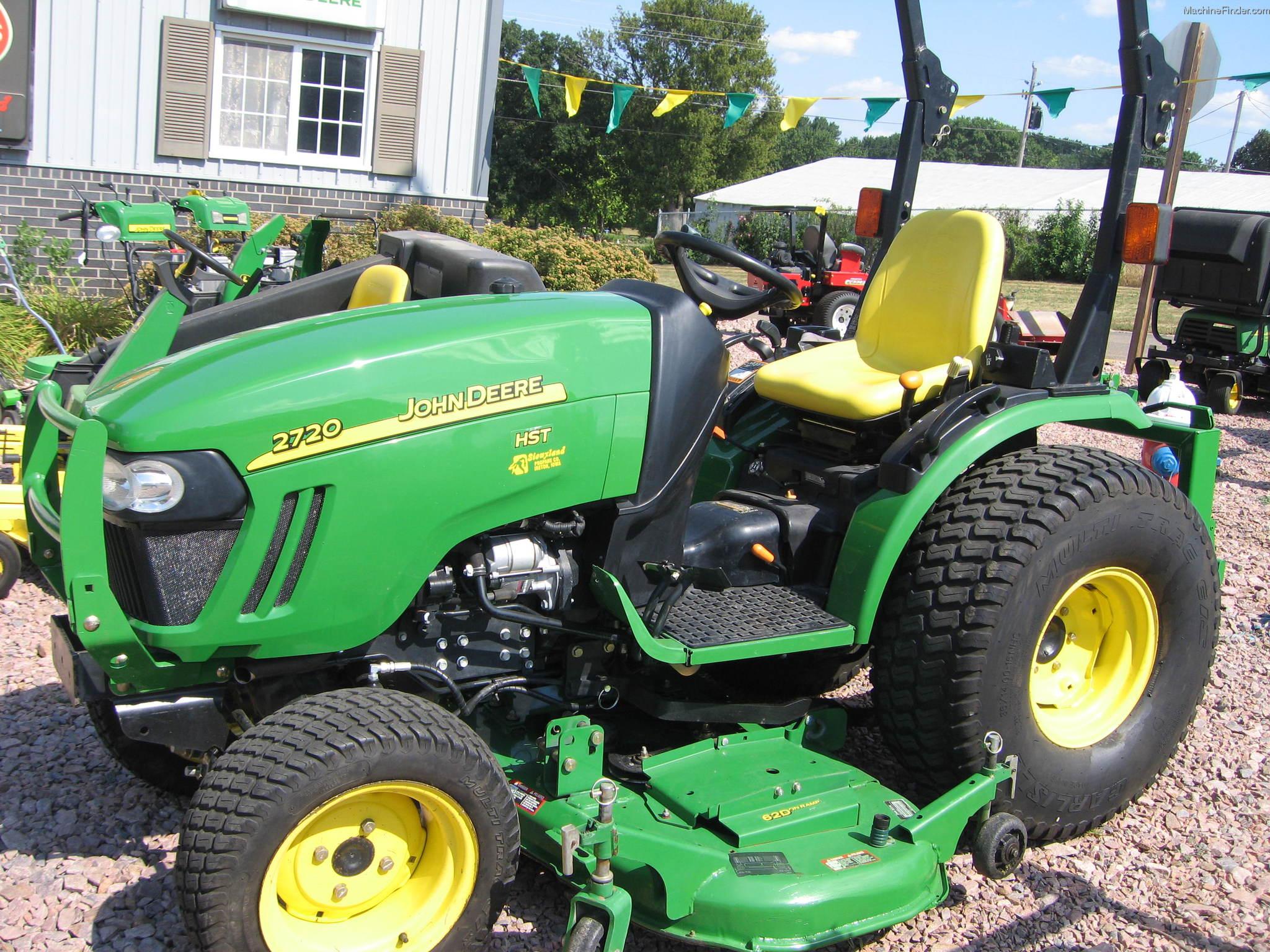 2009 John Deere 2720 Tractors - Compact (1-40hp.) - John ...