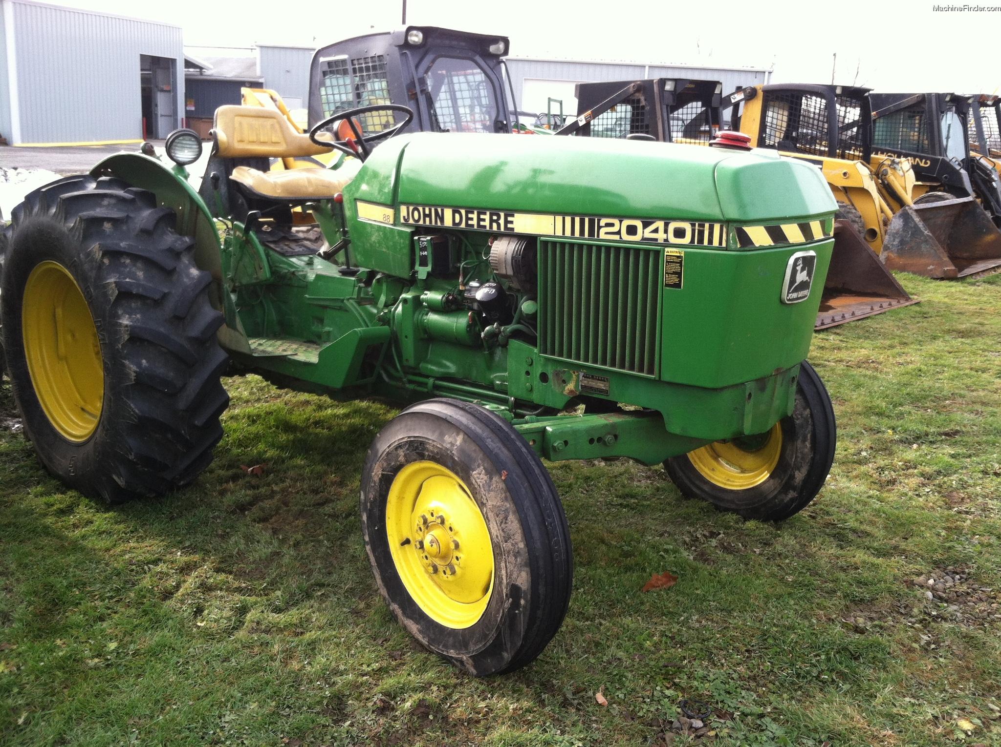 John Deere 2040 Tractors - Utility (40-100hp) - John Deere ...