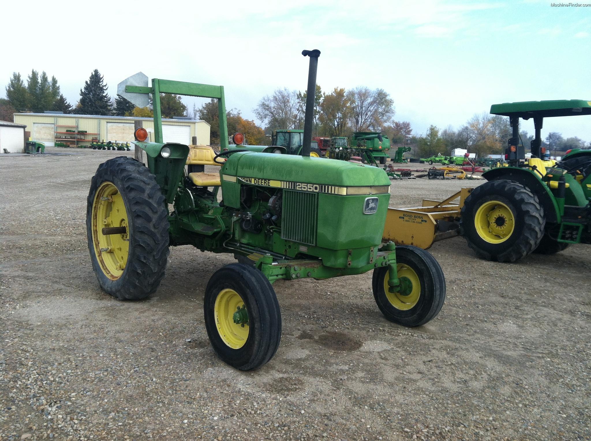 John Deere 2550 Tractors - Row Crop (+100hp) - John Deere ...