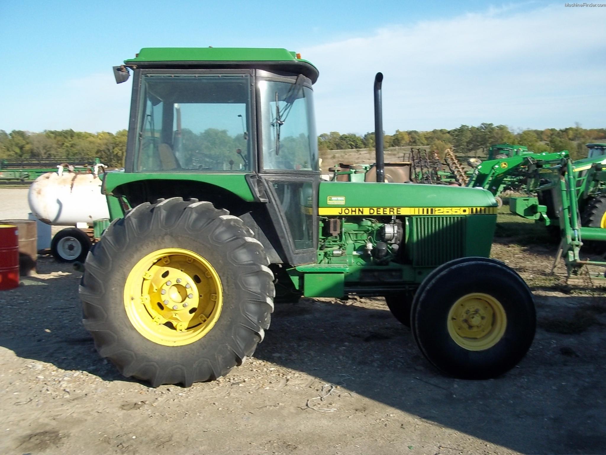 1984 John Deere 2550 Tractors - Utility (40-100hp) - John ...