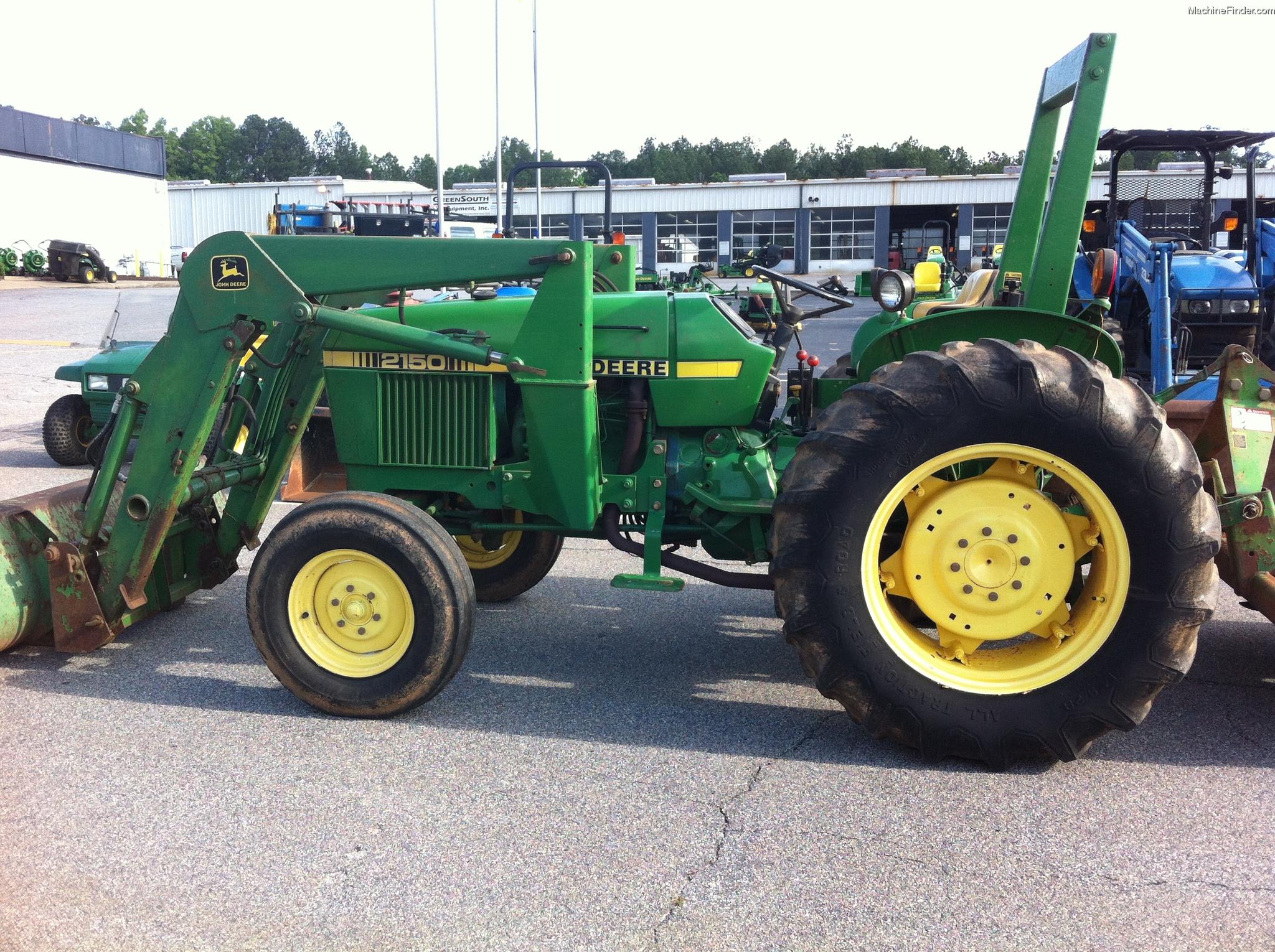 1986 John Deere 2150 Tractors - Compact (1-40hp.) - John ...