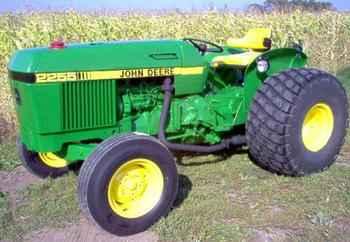 Used Farm Tractors for Sale: 1983 John Deere 2255 Utility ...
