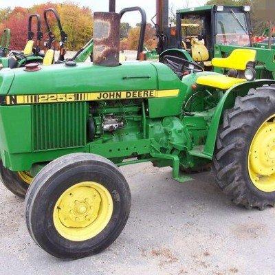 John Deere 2150 and 2255 Tractor Repair Technical Manual ...