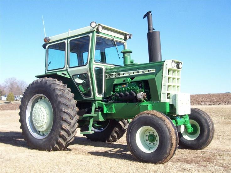 Oliver 2255 tractor farm cat caterpillar | Tractors ...