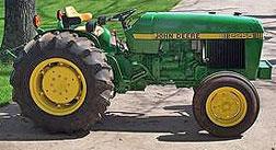 John Deere 2255 Tractor Model