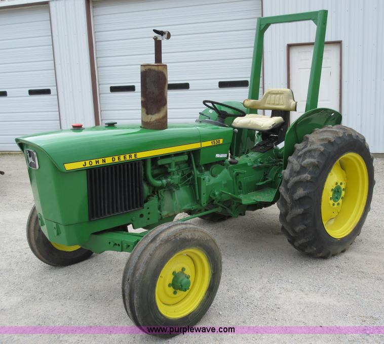 John Deere 1530 tractor | no-reserve auction on Wednesday ...