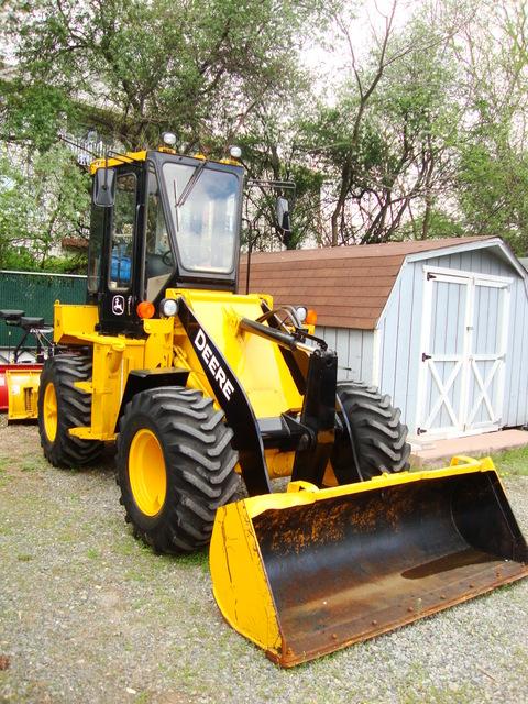 Wheel Loaders used for sale | John Deere 84 one yard ...