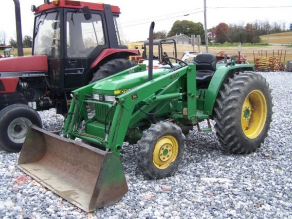 1295: John Deere 1070 4x4 Compact Tractor with Loader ...