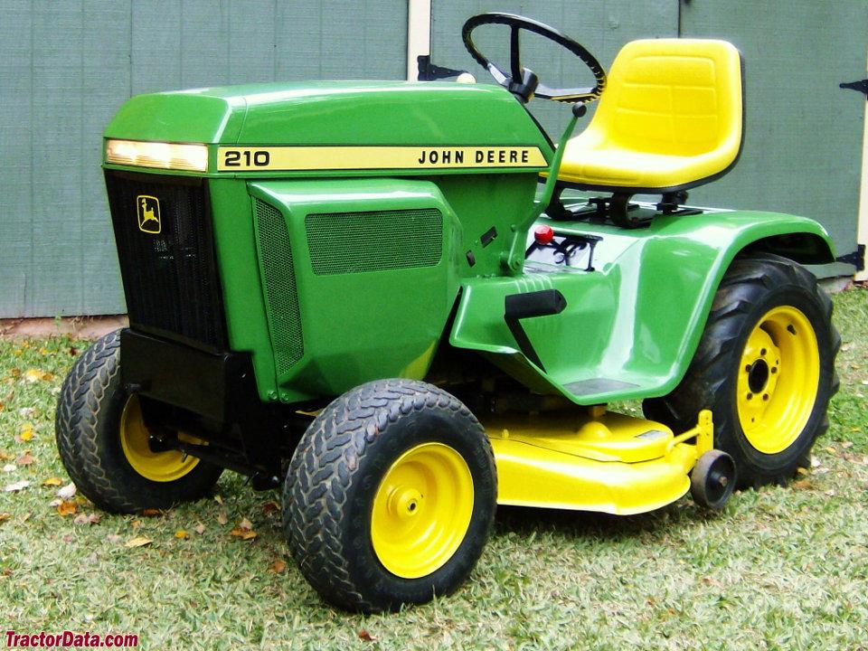 TractorData.com John Deere 210 tractor photos information