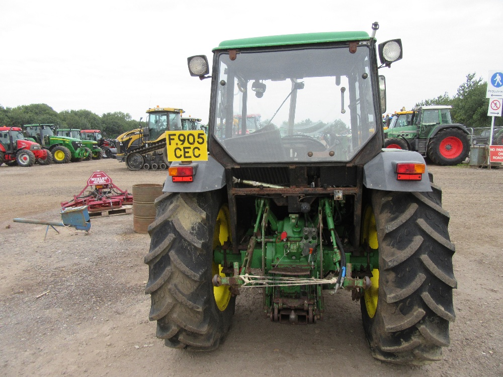 John Deere 2450 4wd Tractor with JD 245 Loader ...