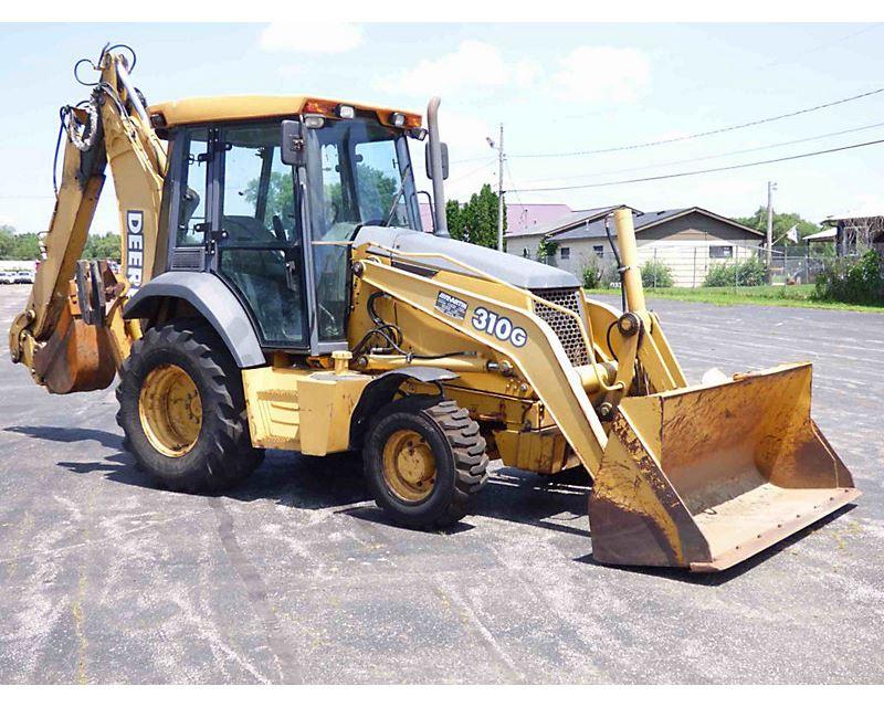 2003 John Deere 310G Backhoe For Sale - South Beloit, IL ...