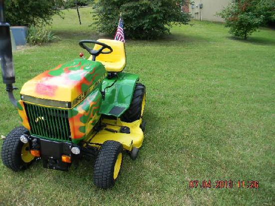 John Deere 314 Review by larryd314 - TractorByNet.com