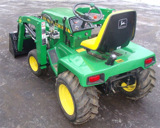John Deere Garden tractor 318,322,332 Front End loader. | eBay