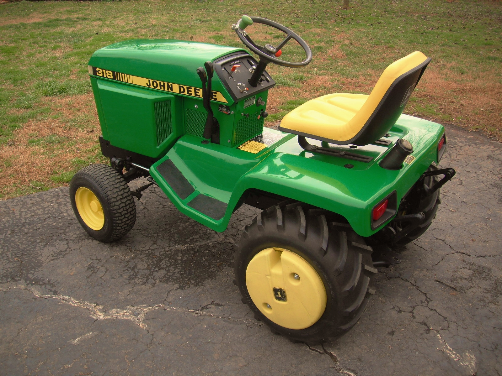 ATTN: All John Deere 318 Owner's if you want it to last ...