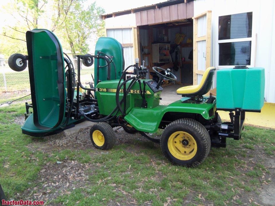 John Deere 318 Garden Tractor Attachments | Car Interior ...