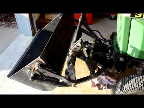 John Deere 318 With Custom Johnny Bucket | How To Save ...