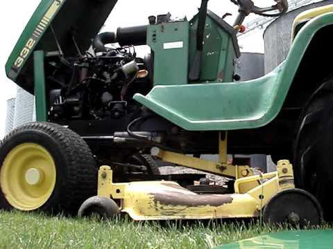 John Deere 332 With Buford Bucket Moving Dirt | How To ...