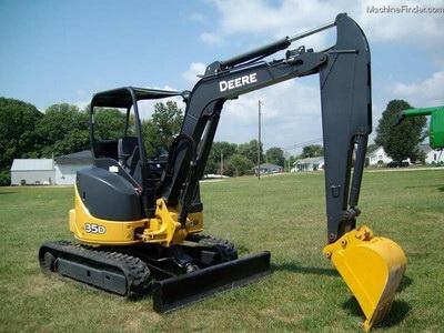 John Deere 35D mini excavator - Excavators Classifieds