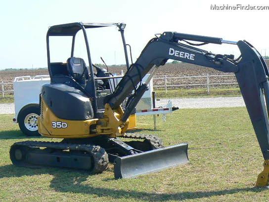 2006 John Deere 35D Excavator - John Deere MachineFinder
