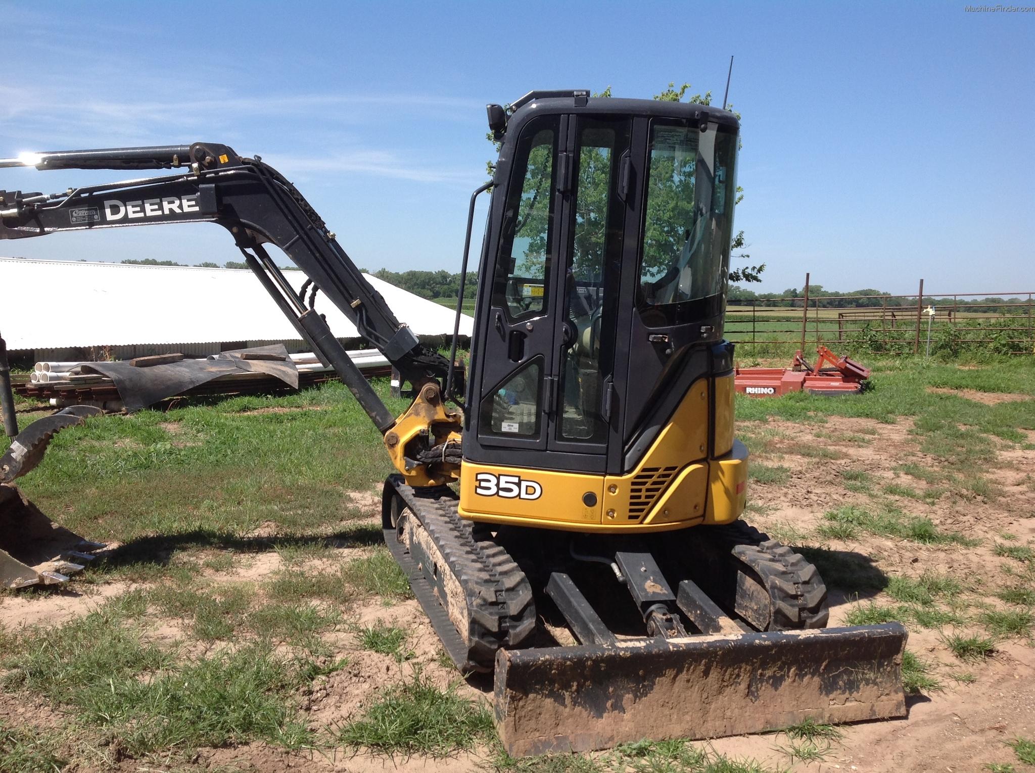 2012 John Deere 35D Compact Excavator - John Deere ...