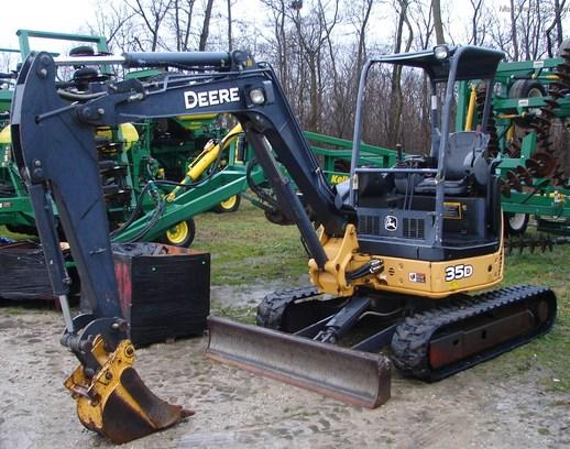 2005 John Deere 35D Compact Excavator - John Deere ...
