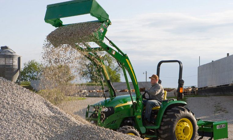 John Deere 4-in-1 Buckets Loaders Material Handling