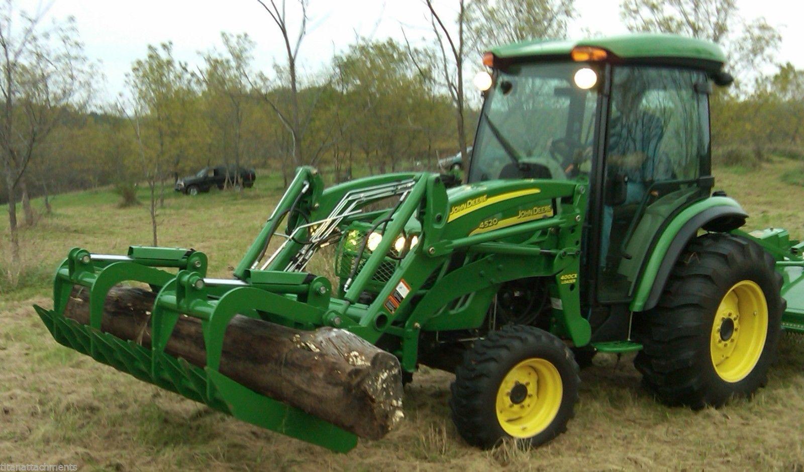 72 Root Grapple Bucket Attachment for John Deere 200 300 ...