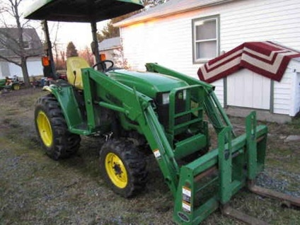 $16,000 John Deere 4410 with 420 Loader for sale in ...