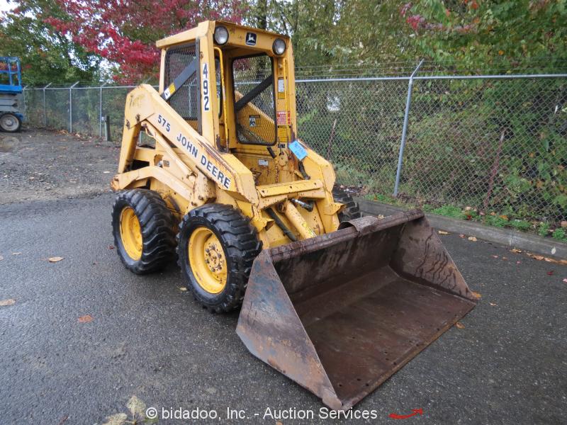 John Deere 575 Skid Steer Wheel Loader Farm AG 61
