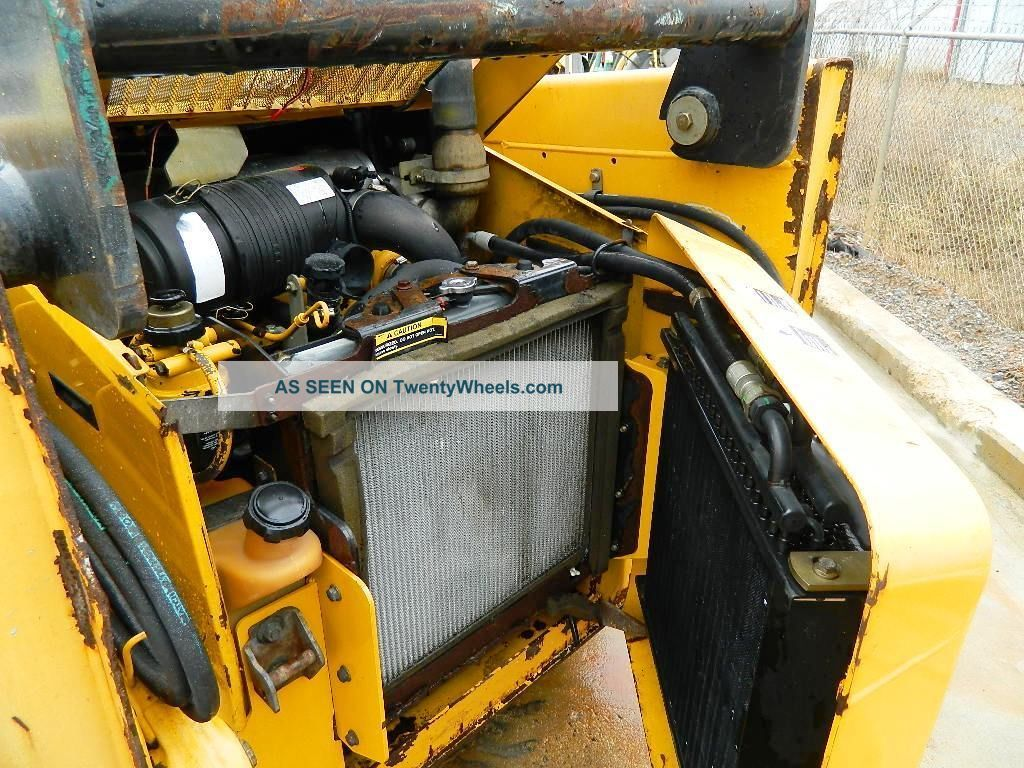 2004 John Deere 317 Skid Steer Loader With Bucket - - 61 ...