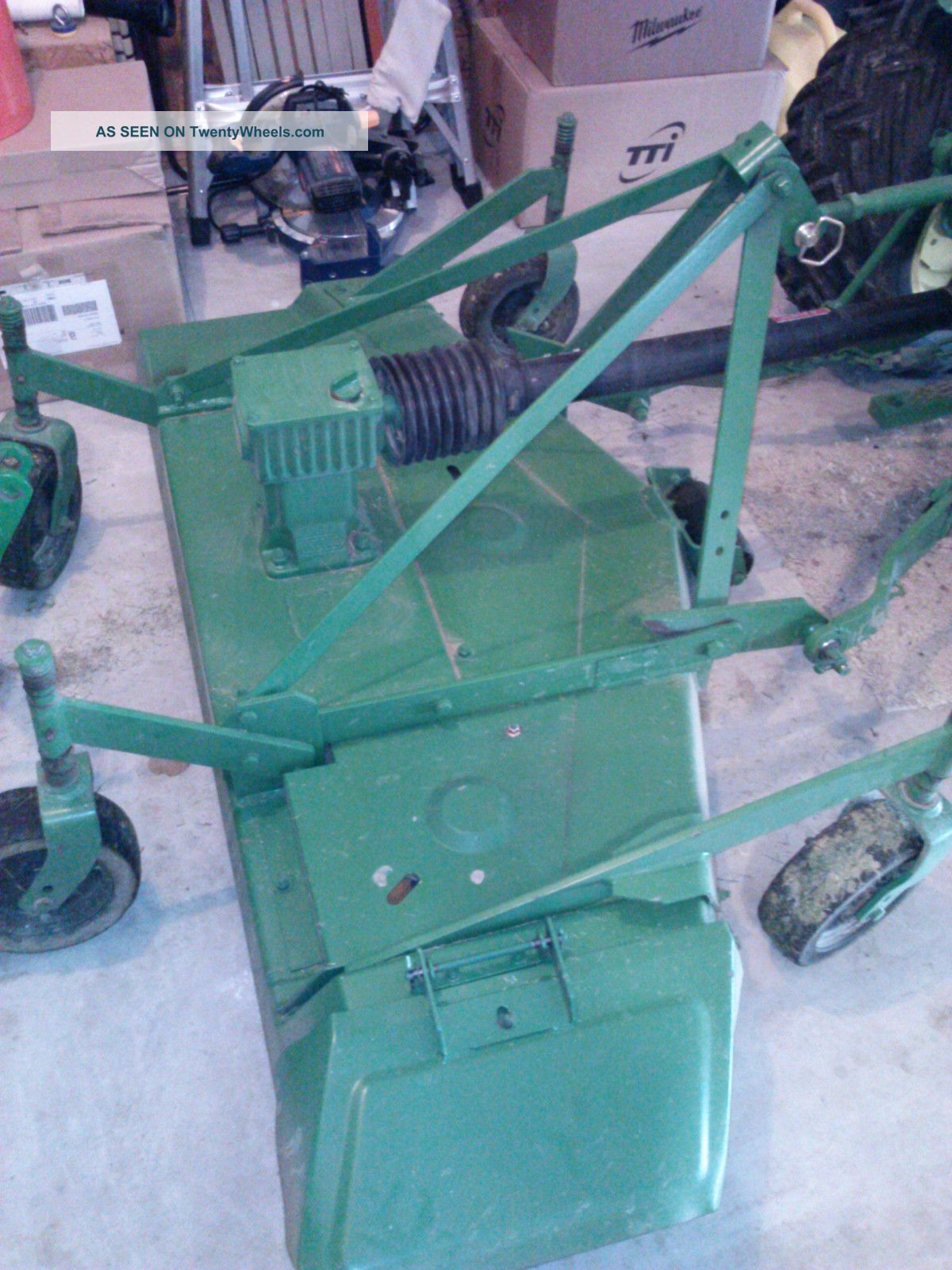 John Deere 650 Diesel Tractor With Attachments