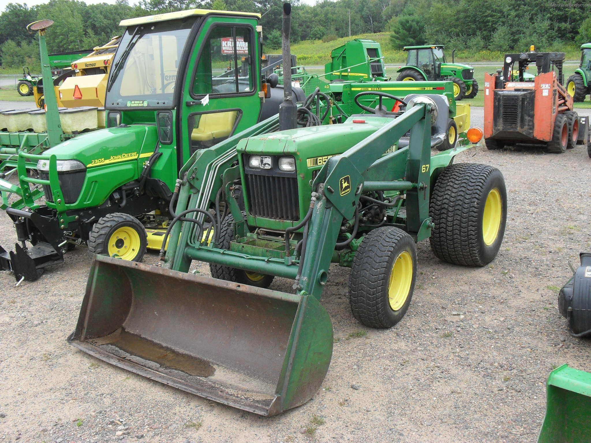 1981 John Deere 650 Tractors - Compact (1-40hp.) - John ...