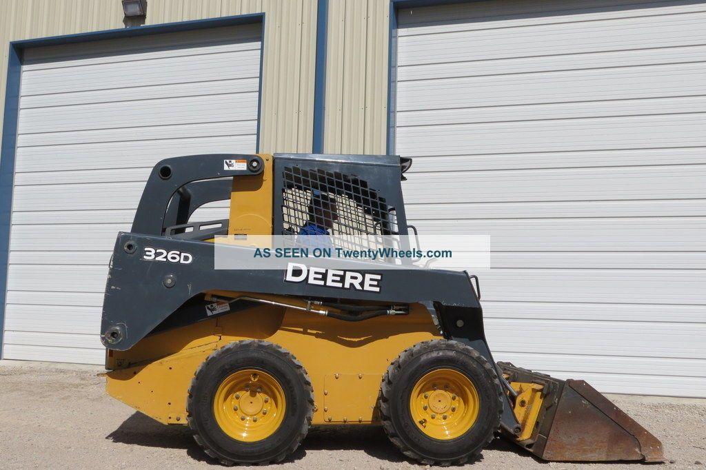 2011 John Deere 326d Skid Steer Wheel 67