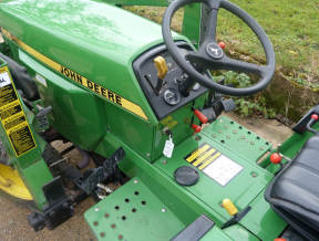 John Deere 855 Compact Tractor w/ JD 70A Front Loader ...