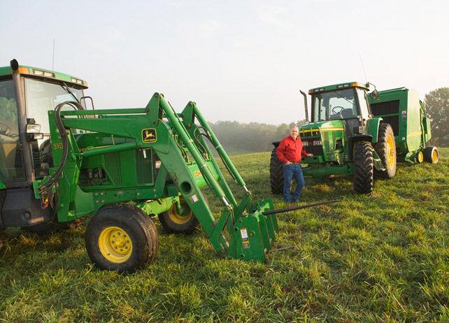 John Deere 740 Classic Loader Ag Tractor Loaders Material ...