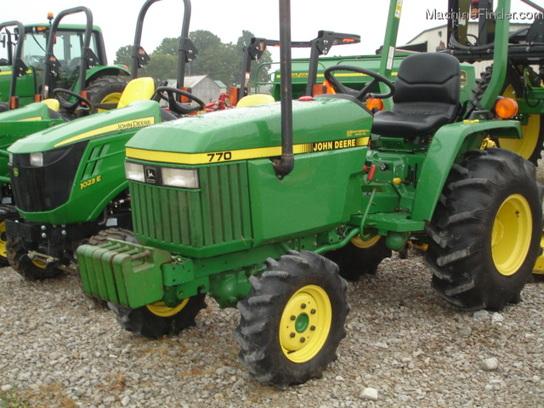1998 John Deere 770 Tractors - Compact (1-40hp.) - John ...