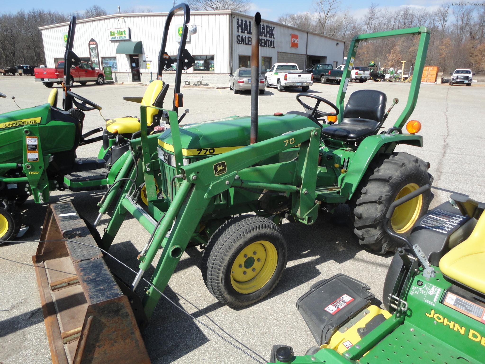 John Deere 770 Tractors - Compact (1-40hp.) - John Deere ...