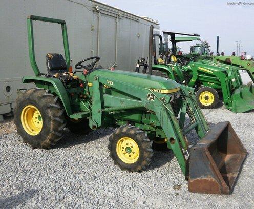 1996 John Deere 770 Tractors - Compact (1-40hp.) - John ...