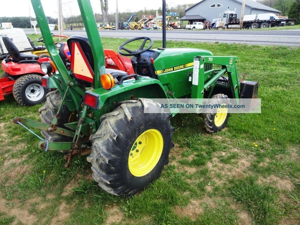 John Deere 770 Compact Tractor W/ 70 Loader. Yanmar Diesel ...