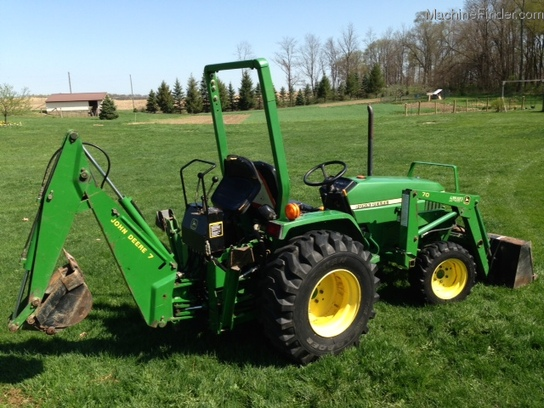 2001 John Deere 790 Tractors - Compact (1-40hp.) - John ...