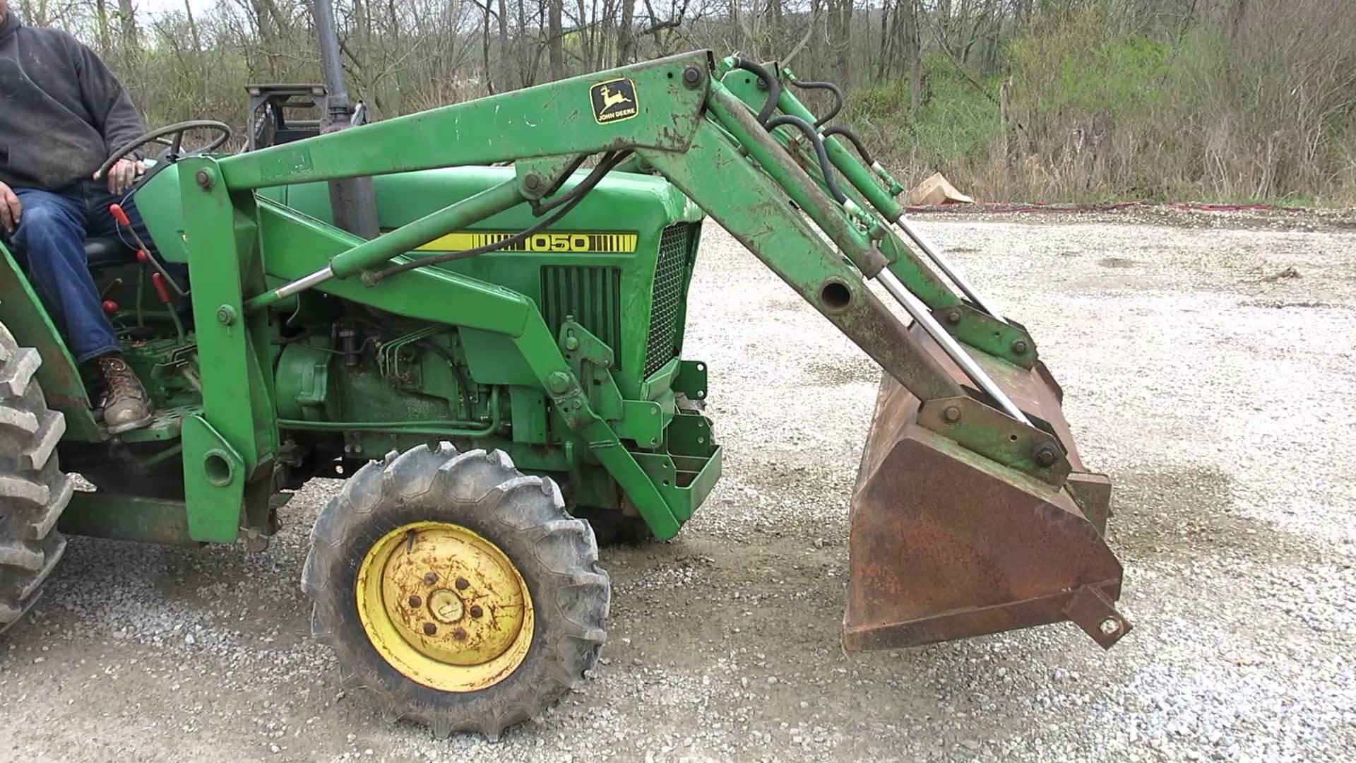 John Deere 80 Front End Loader for Tractors - YouTube