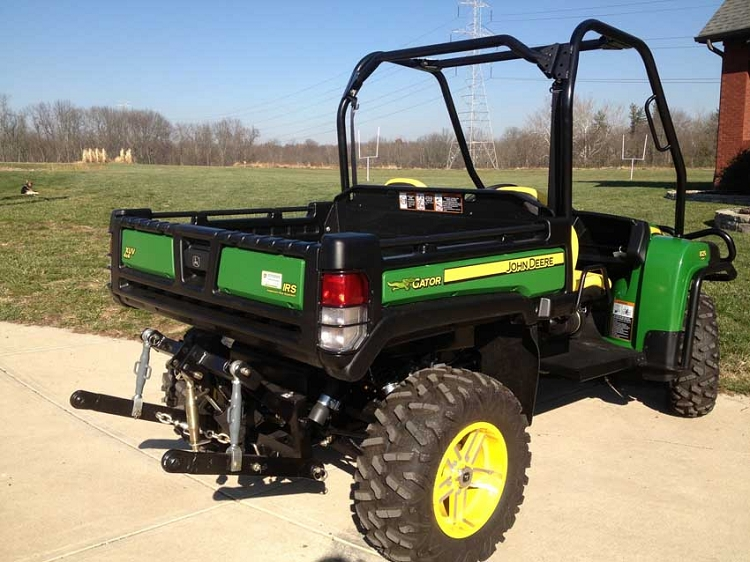 Hydraulic Three Point Hitch for John Deere Gator 825I and 855D