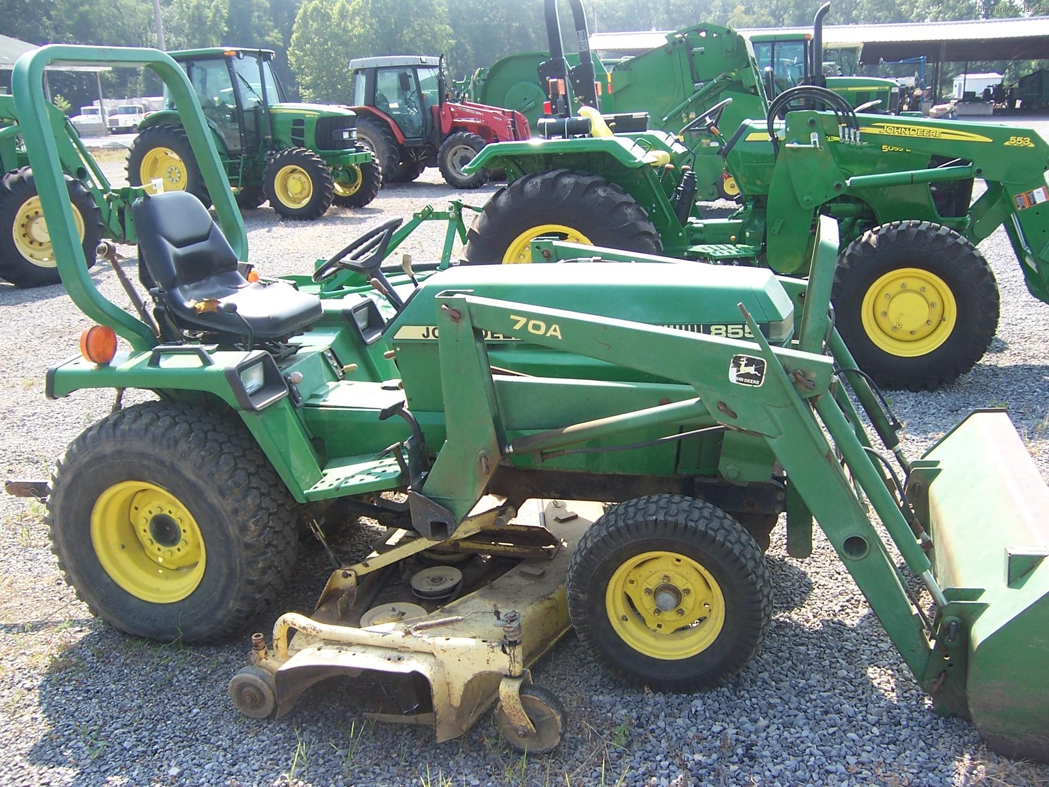 1991 John Deere 855 Tractors - Compact (1-40hp.) - John ...