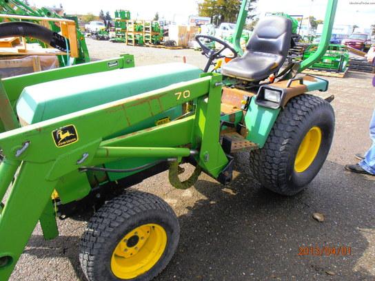 1988 John Deere 855 Tractors - Compact (1-40hp.) - John ...