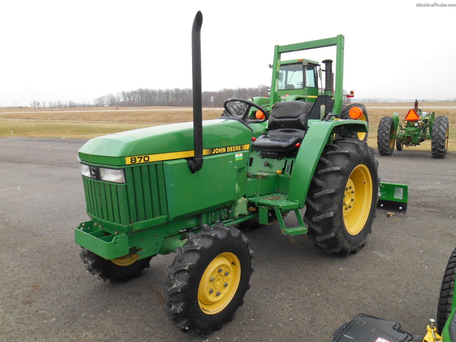 1991 John Deere 870 Tractors - Compact (1-40hp.) - John ...